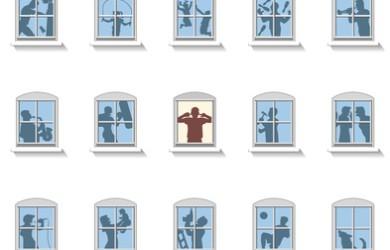 vecinos y alquiler